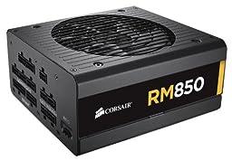 Corsair RM Series, RM850, 850 Watt (850W), Fully Modular Power Supply, 80+ Gold Certified