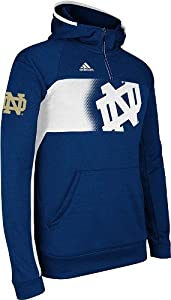 Notre Dame Fighting Irish Adidas 2013 Sideline Climawarm Sweatshirt - Navy by adidas