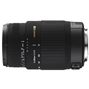 Sigma 70-300mm F/4-5.6 DG OS SLD Super Multi-Layer Coated Telephoto Lens for Nikon AF Mount Digital SLR Cameras