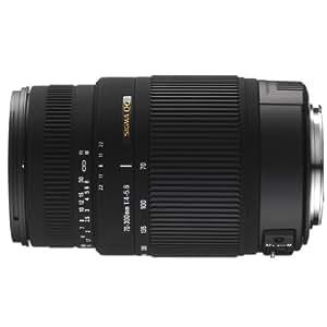 Sigma 70-300mm f/4-5.6 DG OS PAF - Objetivo para Pentax (distancia focal 70-300mm, apertura f/5.6-22, estabilizador óptico, diámetro: 62mm) color negro