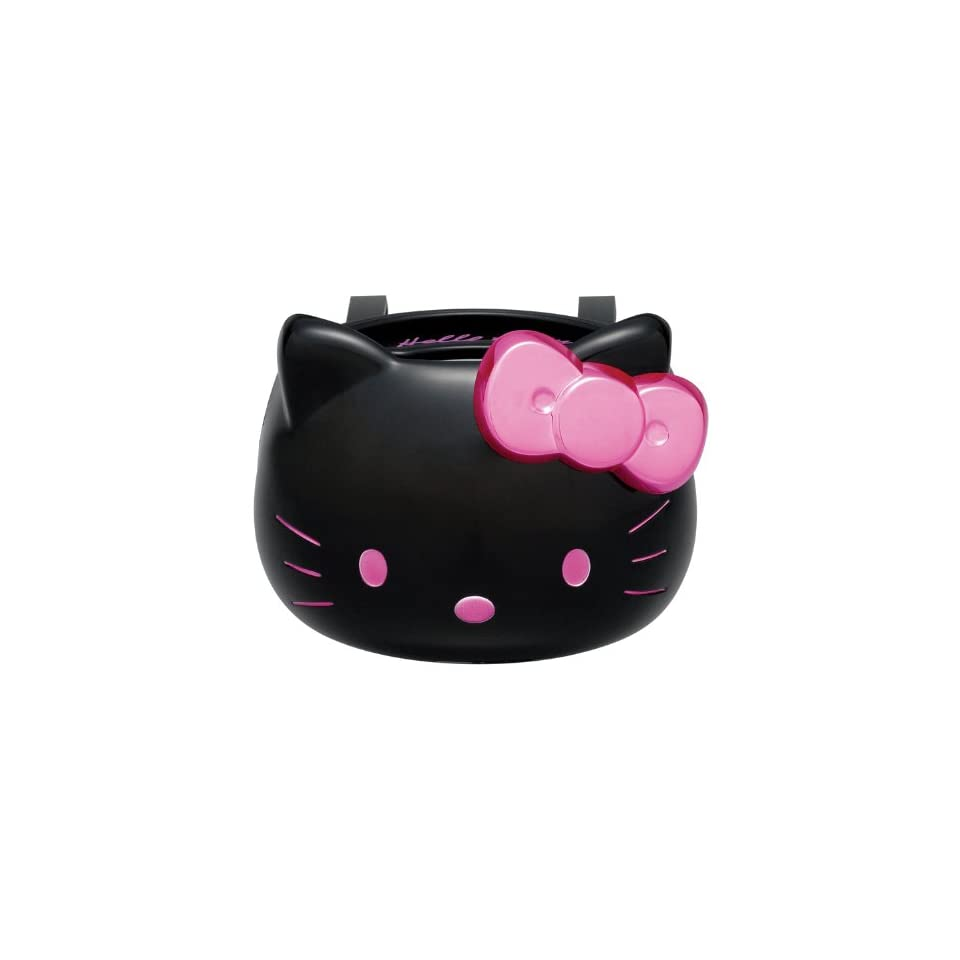 Sanrio Hello Kitty Black Drink Holder (Hello Kitty Face)