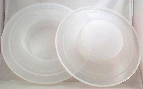 New KitchenAid Stand Mixer Bowl Covers 2 Pk 5 & 6 Qt, KNBC (Kitchen Aid Mixer Bowl Cover compare prices)