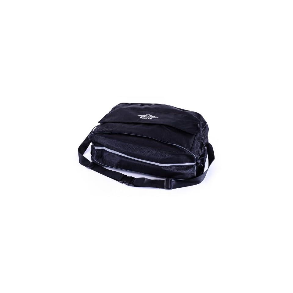 Bestem LGHD GLIDE DFL Black Tour Pak Luggage Rack Duffel Bag for Harley Davidson Road King/Glide