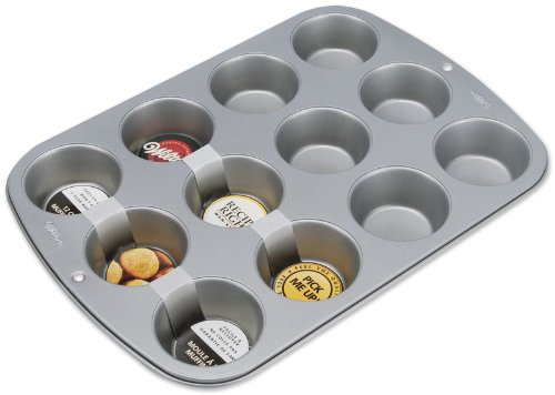 Recipe Right Standard Muffin Pan-12 Cavity 3X1 *** Product Description: Recipe Right Standard Muffin Pan-12 Cavity 3X1. Wilton-Recipe Right. Recipe Right Is Constructed Of Heavy-Gauge Steel That Provides An Even-Heating Performance. Baking Ex *** bx120 2ca steel strain gauge and steel strain gauge