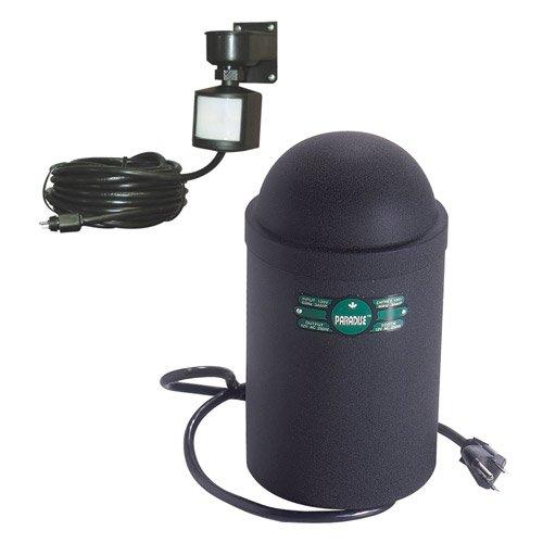 Paradise GL22727-M 250 Watt Transformer Low Voltage Motion Sensored Outdoor Timer, Black