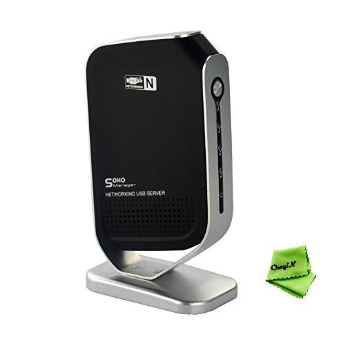 Ckeyin ®4-Port USB 2.0 Serveur d'impression / Print Server USB Ethernet