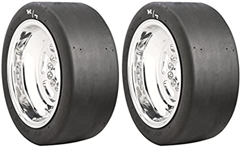 Set of Mickey Thompson ET Drag Racing Bias Tires - 28.0/10.5-15S