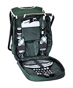 Spectator Picnic Backpack from Sutherland Baskets