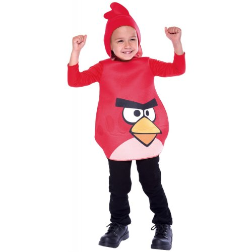 Rovio Angry Birds Red Bird Toddler Costume Size 2T