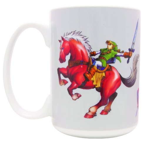 The Legend Of Zelda Ocarina Of Time Link and Epona Tazza