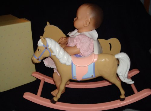 Baby Girl Rocking Horse back-621309