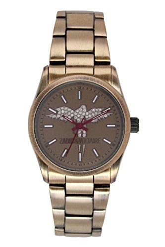 Zadig & Voltaire ZV 005Ladies Quartz Watch with Analogue Quartz Beige/8UM