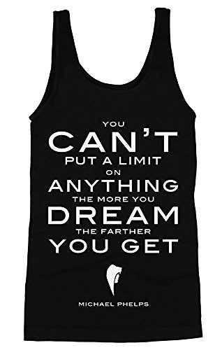 Michael Phelps Quote About Dreaming Women's Tank Top Large