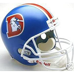 Denver Broncos 1975-1996 Deluxe Replica Riddell Throwback Full Size Helmet by Riddell