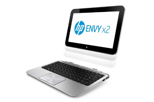 Hp envy x2 11 g030ea d0w48ea 116 inch tablet laptop intel atom 18ghz processor 2gb ram 64gb hdd wifi win 8 hp refurbished with 12 month warranty