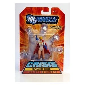 Buy Low Price Mattel DC Universe Infinite Heroes Powergirl Figure (B001ACIH6Q)
