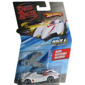 Hot Wheels Speed Racer Mach 6 with Saw blades