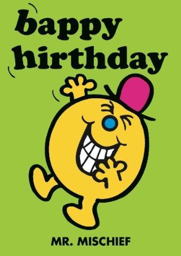 Herr Unfug Happy Birthday biglietto d'auguri