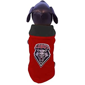 NCAA New Mexico Lobos All Weather-Resistant Protective Dog Outerwear by All Star Dogs