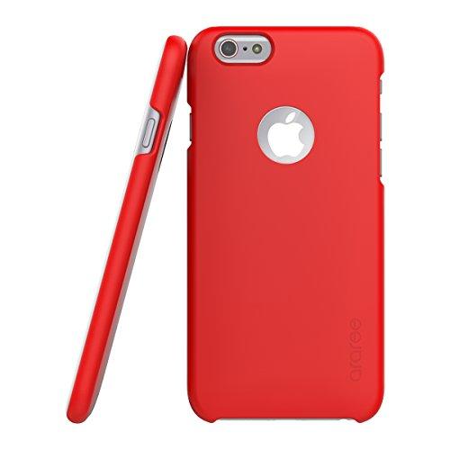 [araree正規品] VIEWTY(ビューティー) for iPhone6 (4.7インチ) - ICカード一枚収納可能 (レッド)
