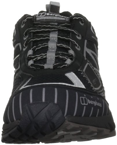 Berghaus Men's Limpet Low Black/Silver Hiking Shoe 4-20415Bb6 10 UK