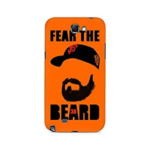 Mobicture Fear the Beard Bud Premium Printed Case For Samsung Note 2