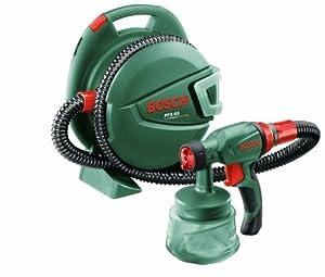 Bosch PFS 65 HomeSeries Feinsprühsystem + 600 ml Behälter + TrainingsDVD (280 W, 0130 g/min)  BaumarktÜberprüfung und Beschreibung