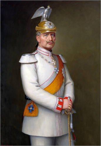 impression-sur-bois-70-x-100-cm-portrait-of-kaiser-wilhelm-ii-de-adolf-emil-hering-artothek