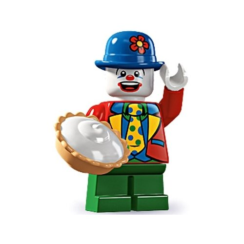Lego Series 5 Small Clown Mini Figure - 1