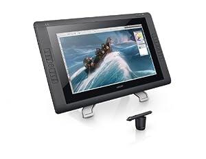 Wacom CINTIQ 21.5-Inch Pen Display-Graphics Monitor with Digital Pen DTK2200 (Black)