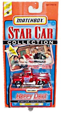 Matchbox Star Car Collection Series 1 Happy Days Candy Apple Red Metallic '56 Ford Pick-up Special Edition