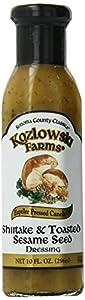Kozlowski Farms Seed Dressing, Shiitake and Toasted Sesame, 10.0-Ounce (Pack of 6)