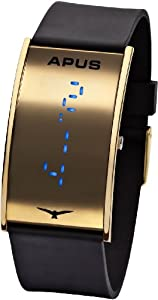 APUS Gamma Gold-Blue LED Watch Very Light