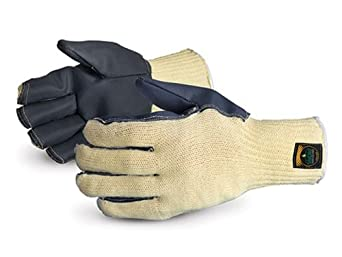 Superior SKSCTB Action Kevlar Silachlor Lined Glove with TemperBloc Palm, Work, X-Large (Pack of 1 Pair)