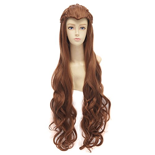 [The Hobbit / the Lord of the Rings Film Mirkwood Elf Cosplay Costume Wig] (Hobbit Costume Ideas)