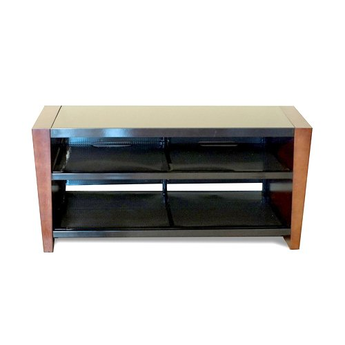 Tech craft wedg48 48 inch ntr tv stand 0 50 walnut for Best tv stands review