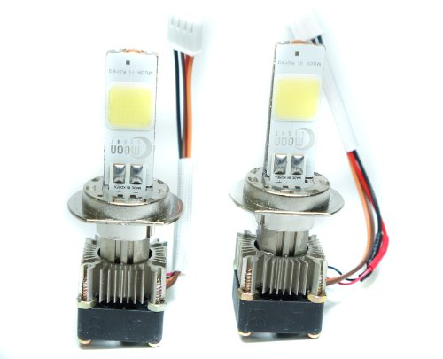 Kolite Sale 2 Pcs H7 Led Headlight Bulb 18W 2000Lm Cool White 6000K Car Light Bulb Headlamp