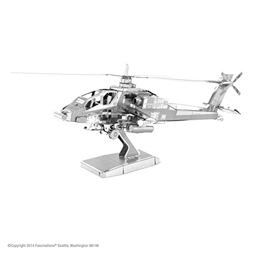 MetalEarth - AH-64 Apache - 1