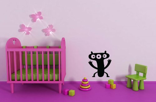 la-habitacion-de-los-ninos-guarderia-cute-little-monster-vinilo-adhesivo-decorativo-para-pared