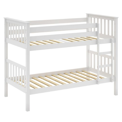 Stunning Affordable CorLiving BMB B Monterey Solid Wood Bunk Bed Single White