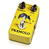 Joyo JF-09 Tremolo Guitar Pedal with True By-Pass wiring and Quality Components to Achieves the Desired Sound