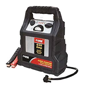 how to use power on board jump start system