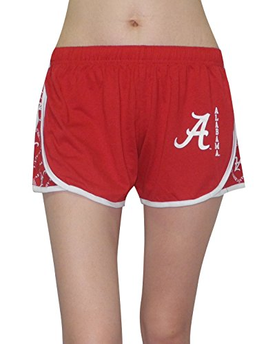ncaa-alabama-crimson-tide-womens-running-sports-pants-l-red