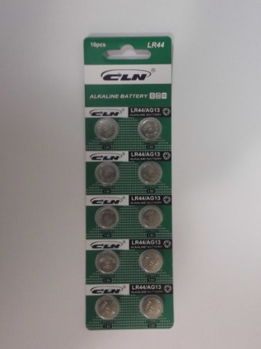 LR44 アルカリボタン電池(20個パック)