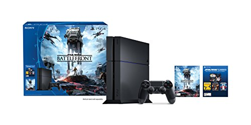 PlayStation 4 500GB Console – Star Wars Battlefront Bundle