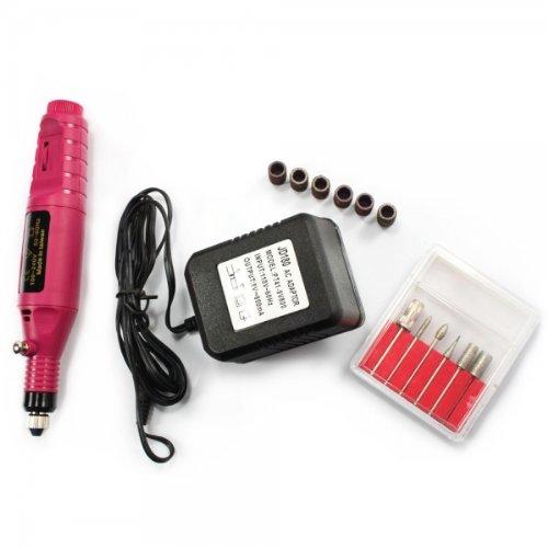 Pen Shape Electric Manicure Nail Art Drill File With 6 Bit Sku: H2011