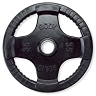 Body-Solid Quad Rubber Grip Olympic Weight Plates