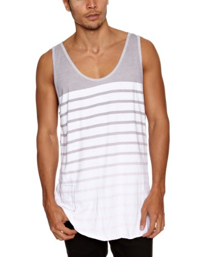 Religion Ltd Gdl14 Gradient Vest Men's Vest Grey/Pink Large