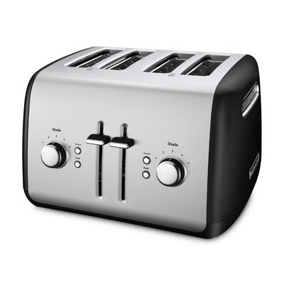 KitchenAid Toaster with Manual High-Lift Lever, Onyx Black (Kitchenaid Toaster Ovens compare prices)