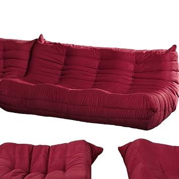 Strange 675 Lexmod Waverunner Modular Sectional Sofa Red Lexington Evergreenethics Interior Chair Design Evergreenethicsorg